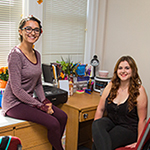 Photo of FSU students in Residence Hall room